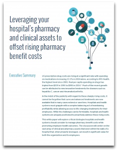 Leveraging Hospital Pharmacy and Clinical Assets Report cover